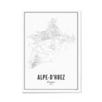 ALPE D HUEZ PRINT A4 WIJCK
