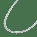 Big snake necklace silver