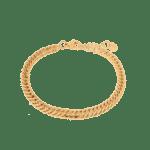 Big snake bracelet gold