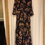 YASSAVANNA FLORA LONG SHIRT DRESS - BLACK FLORA AOP