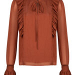 BLOUSE CHARLIE RUST