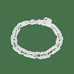 Chain me up bracelet silver
