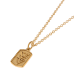 TRIPLE TRIANGLE GOLD NECKLACE