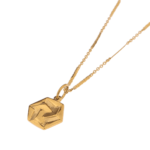 HEXAGON INFINITE GOLD NECKLACE