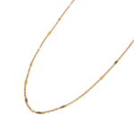 SPACER NECKLACE GOLD CHOKER