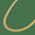 Big snake necklace gold