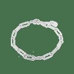 Hold on bracelet silver