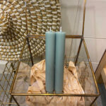 CANDLE SMALL - TURQUOISE