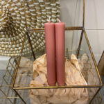 CANDLE SMALL - ROZE