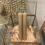 CANDLE SMALL - BEIGE