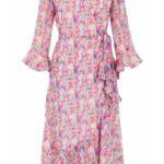 YASESMERALDA 3/4 DRESS - SHOW S