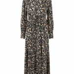 YASEMALLA LS LONG SHIRT DRESS S. - BLACK/EMALLA